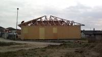 Výstavba čtvrté dřevostavby na klíč ve Vysoké nad Labem