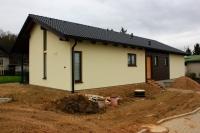 Dokončení dřevostavby na klíč podle projektu Uno 2