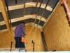 instalace rastrů pro montáž sdk podhledů v obývacím pokoji (výstavba dřevostavby na klíč - Hradec Králové, Stěžírky)