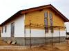 zateplování pláště bungalovu fasádním polystyrenem (výstavba dřevostavby na klíč - Hradec Králové, Stěžírky)