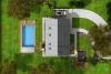 Projekt podkrovní dřevostavby na klíč Vermont 5S
