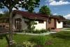 Projekt dřevostavby na klíč - bungalov Talon