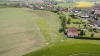 stavební pozemky Skalička - letecké fotografie lokality