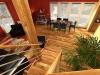 podkrovní dřevostavba Domino
