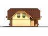podkrovní dřevostavba s garáží Premier 151 Plus