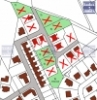 pozemky Lázně Bohdaneč - prodejní mapa (stav k 23.6.2015)