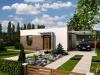 projekt dřevostavby na klíč - bungalov Studio C