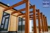 foto z výstavby dřevostavby