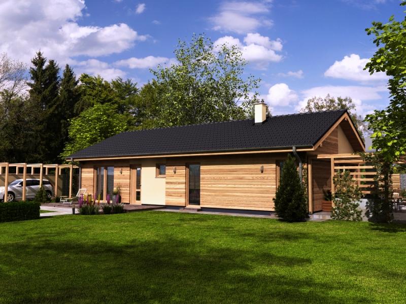 Dřevostavby bungalovy na klíč