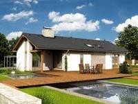 Nízkoenergetické domy na klíč - dřevostavba Uno 1